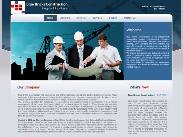 Blue Bricks Constructions