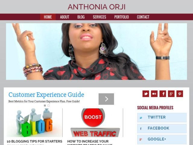 Anthonia Official Site